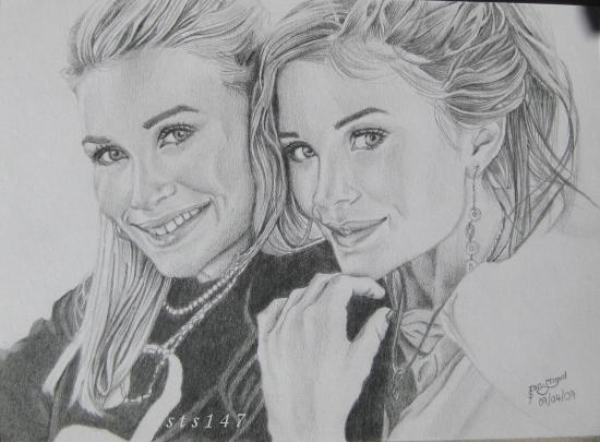 Mary-Kate Olsen, Ashley Olsen por sts147